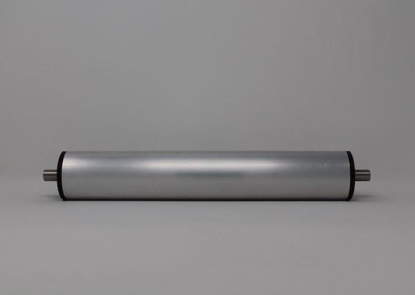 Tragrolle aus Aluminium mit Federachse 50mmx1,5mm