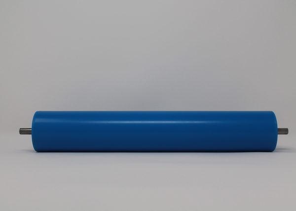 Tragrolle aus Kunststoff mit Federachse 50mmx2,8mm