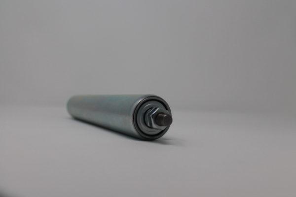 Tragrolle aus Stahl mit Außengewinde 40mmx1,5mm 2