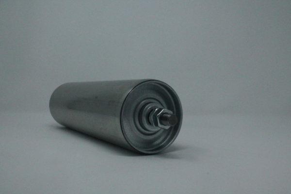 Tragrolle aus Stahl mit Außengewinde 80mmx2,0mm 2