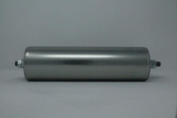 Tragrolle aus Stahl mit Außengewinde 80mmx2,0mm