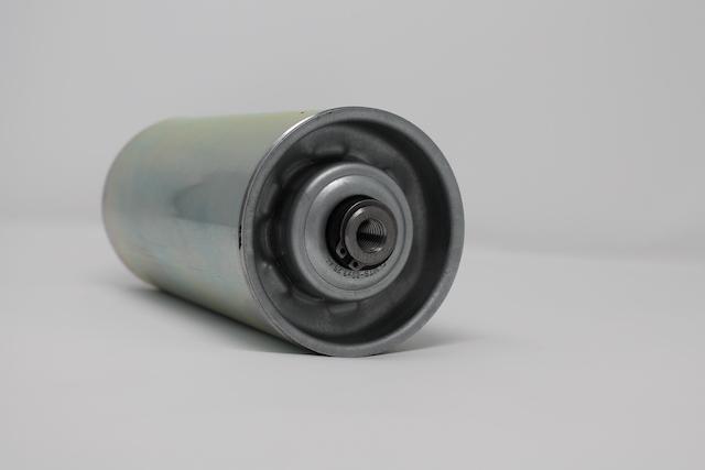 Tragrolle aus Stahl mit Innengewinde 89mm x 3,2mm