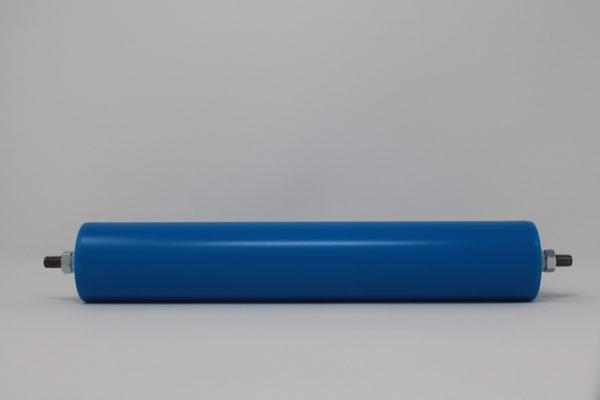 Tragrolle aus Kunststoff mit Außengewinde, rostfrei 50mmx2,8mm