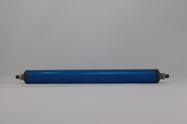 Tragrolle aus Kunststoff mit Außengewinde, rostfrei 30mmx1,8mm