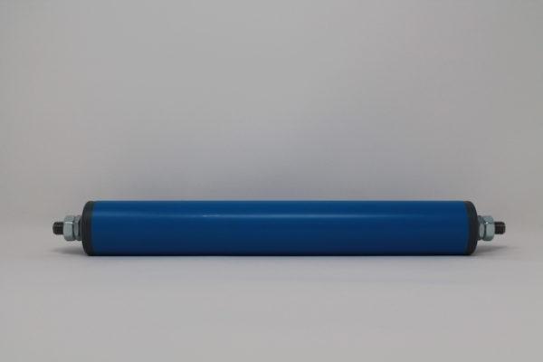 Tragrolle aus Kunststoff mit Außengewinde, rostfrei 40mmx2,3mm