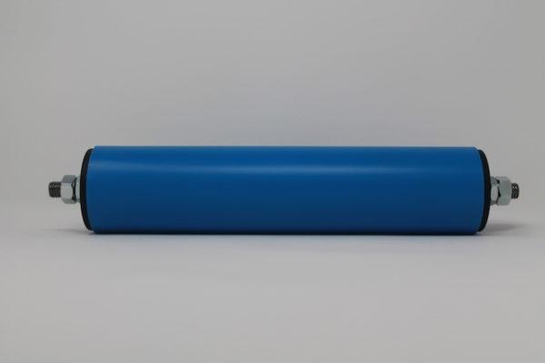Tragrolle aus Kunststoff mit Außengewinde, rostfrei 63mmx3,0mm