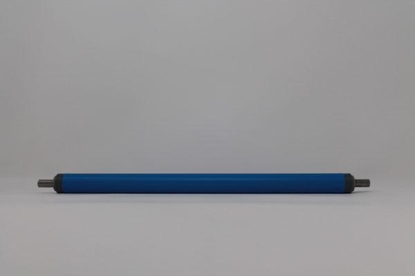 Tragrolle aus Kunststoff mit Federachse, rostfrei 20mmx1,5mm