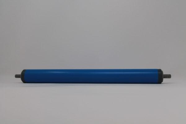 Tragrolle aus Kunststoff mit Federachse, rostfrei 30mmx1,8mm