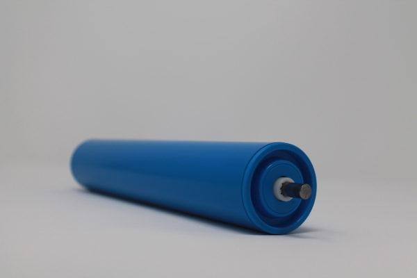 Tragrolle aus Kunststoff mit Federachse, rostfrei 50mmx2,8mm