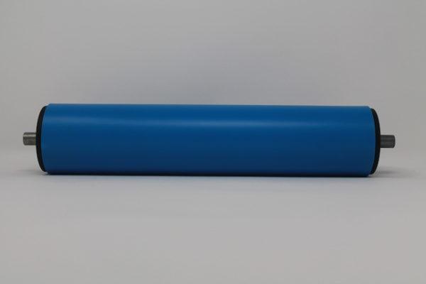 Tragrolle aus Kunststoff mit Federachse, rostfrei 63mmx3,0mm