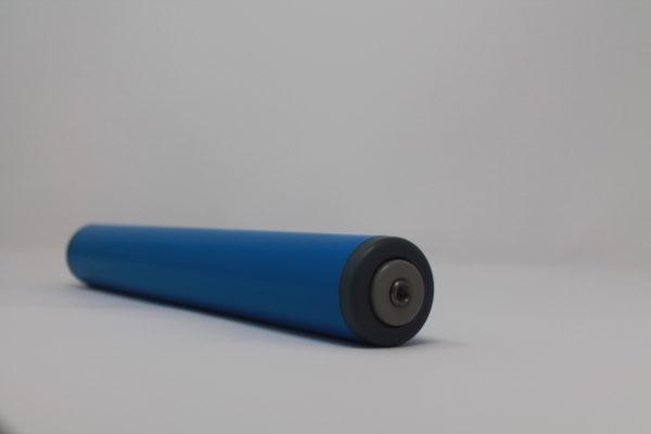 Tragrolle aus Kunststoff mit Innengewinde, rostfrei 40mmx2,3mm