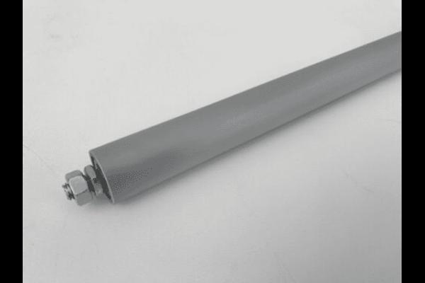 Tragrolle Aluminium mit Außengewinde Rollenbahnen