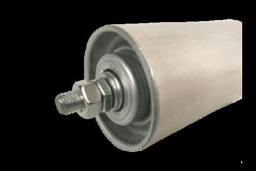 Tragrolle mit Außengewinde ALUminium Rollenbahnen Ø 50 mm 10-115cm