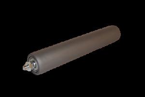 3 X Tragrollen Tragrolle Stahl PVC Schlauch beschichtet Ø 50 mm 63 Shore