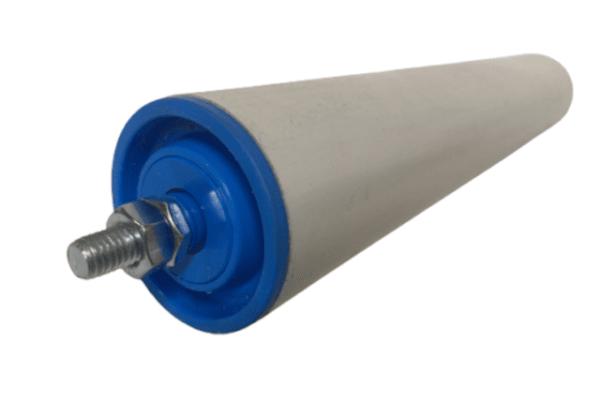 Tragrollen Tragrolle Außengewinde Plastik Rollenbahnen Ø 50 mm Kunststoff