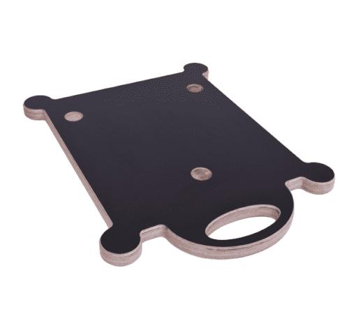 Gleitbrett Gleiter Slider für den Thermomix TM5 TM6 mundor metall