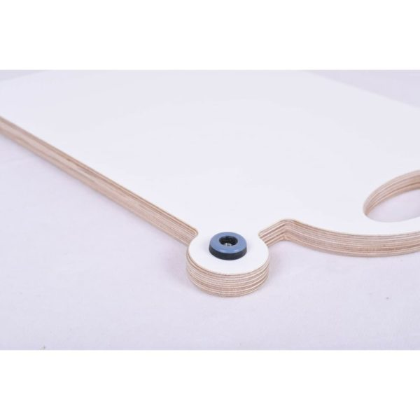 Gleitbrett weiß Gleiter Slider für den Thermomix TM5 TM6 mundor metall