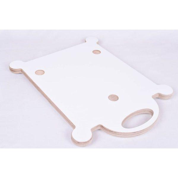 mundor metall Gleitbrett weiß Gleiter Slider für den Thermomix TM5 TM6