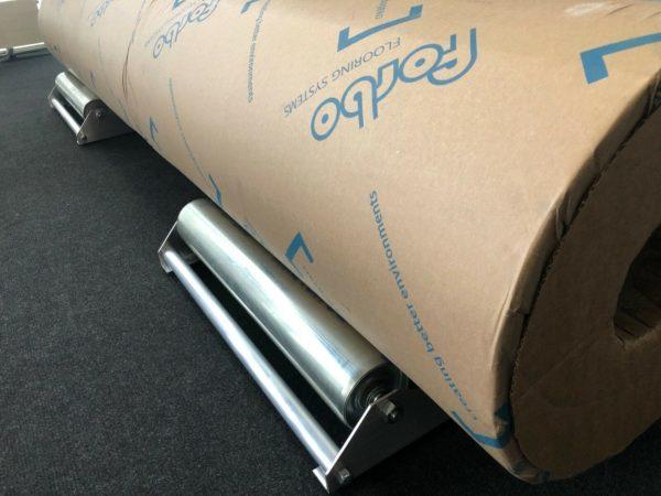 mundor metall Teppichabroller Abroller Bodenbelagsabroller Abrollhilfe Vinylabroller 1