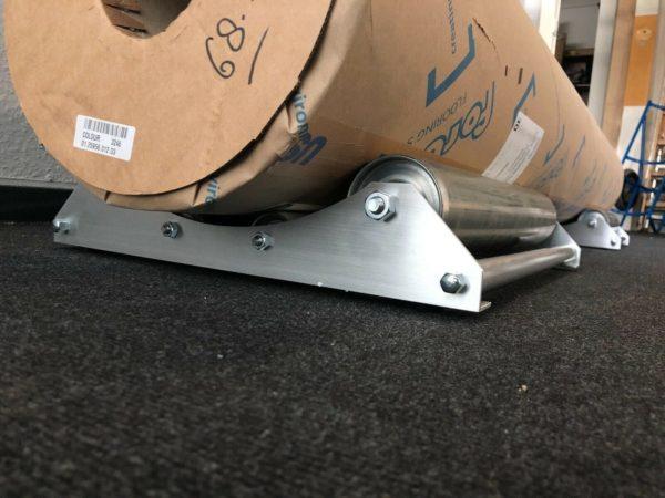 mundor metall Teppichabroller Abroller Bodenbelagsabroller Abrollhilfe Vinylabroller 2