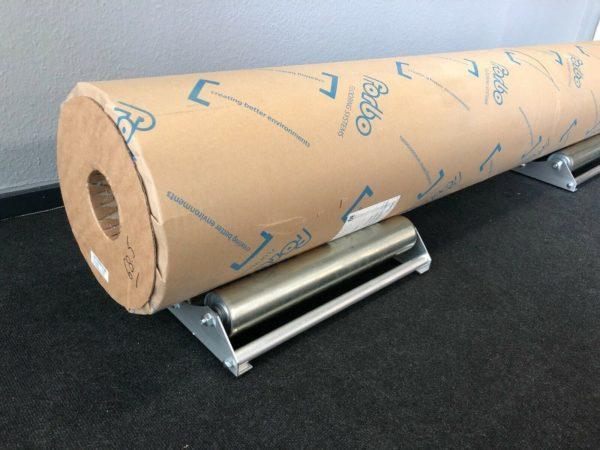 mundor metall Teppichabroller Abroller Bodenbelagsabroller Abrollhilfe Vinylabroller 3