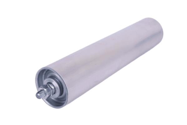 mundor metall Tragrolle mit Außengewinde ALUminium Rollenbahnen Ø 60 mm 10-115cm